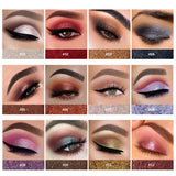 Metallic Silver Purple Shimmer Eye Shadow Cream Holographic Glitter