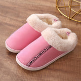Winter Slippers Warm Plush Soft Indoor Cotton Footwear