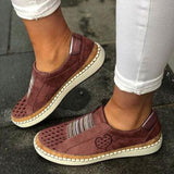 White Flats Casual Shoes 2019 Fashion  Sneakers