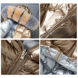 Double Sided Waterproof Winter Jacket