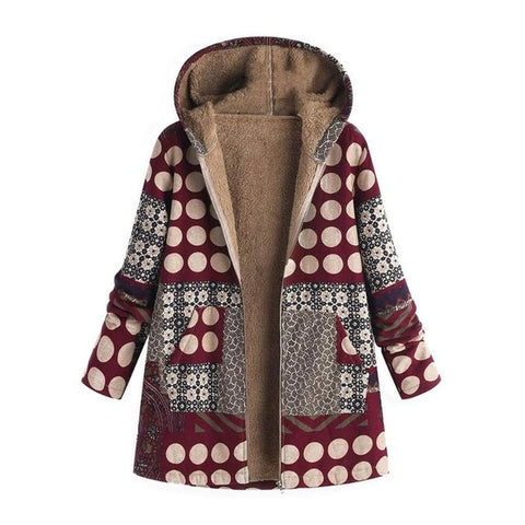Big Size Thick Warm Winter Jacket