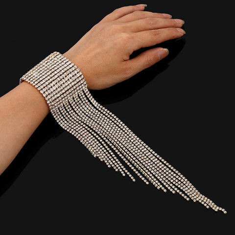 Tassel Rhinestone Fashion Luxury Bracelet