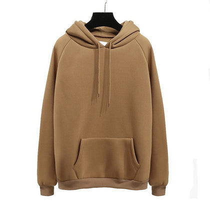 Casual Fleece Hoodies Long Sleeve Sweatshirts