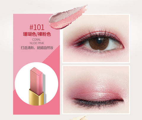 Double Color Eyeshadow Stick Smooth Makeup Pencil