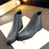 Winter Boots High Quality Pointed Toe Shoes