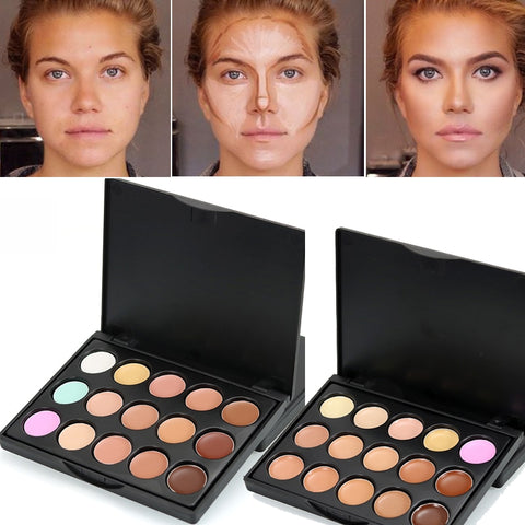 15 Colors Concealer Palette 2019