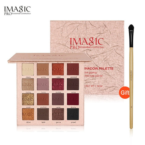 Waterproof Charming Eye Shadow 16 Color Palette Makeup EyeShadow Palette