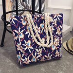 2019 Casual Women Floral Large Capacity Bag