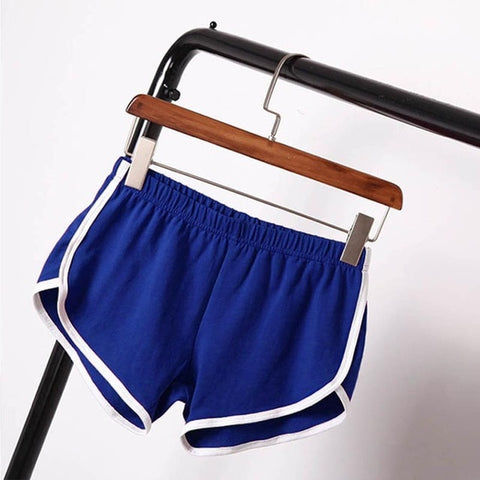 Summer Workout Shorts Waistband Skinny Short