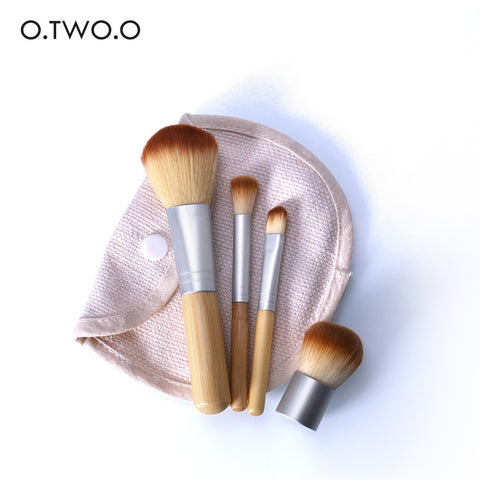 4PCS/LOT Bamboo Brush Foundation