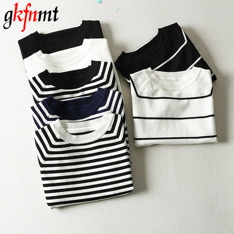 Summer Short Sleeve Striped Pullover 2019