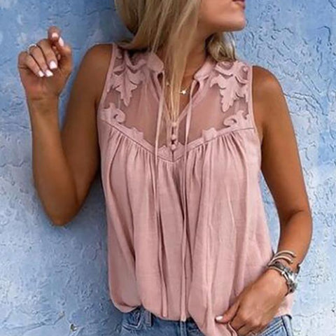Casual Loose Short Sleeve Women Shirts Blouse Top