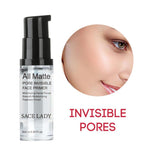 Face Base Primer Cream Liquid Matte Fine Lines Oil-control