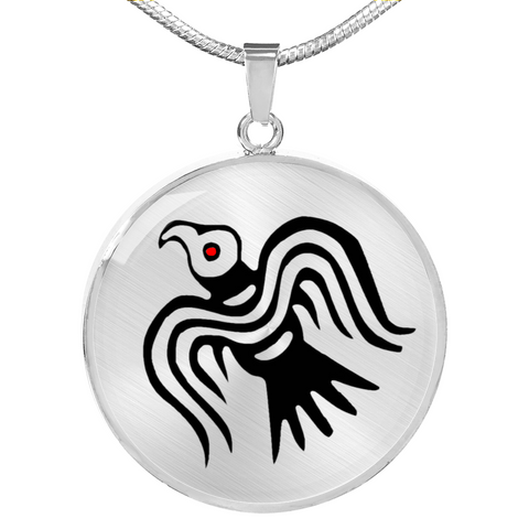 Odin's Raven Necklace
