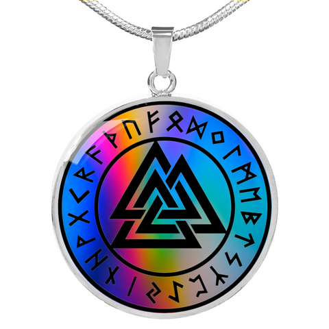 Valknut Runes New Realm Necklace
