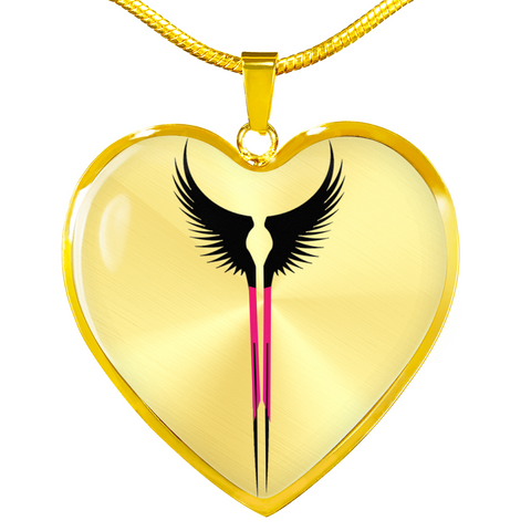 "Valkyrie Wings ""chooser of the slain"" Necklace"