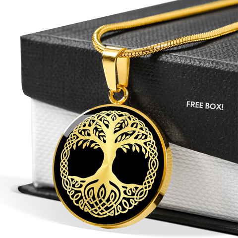 Yggdrasil Mythical Tree Necklace