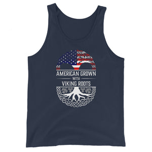 American Grown w/ Viking Roots Unisex Tank Top
