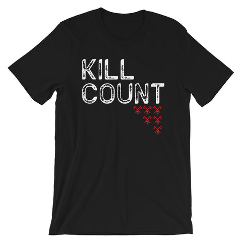 Kill Count 6 Viking T-Shirt