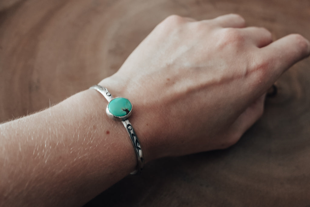Turquoise Stacking Cuff #3