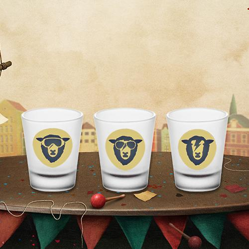 Limited Edition shot glasses (set of 3)