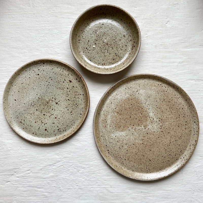 Recycled Clay Dinner Set