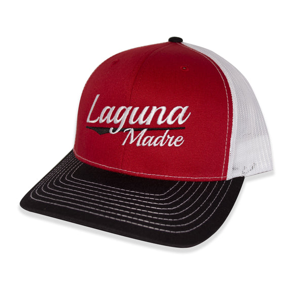 Vintage Logo Snapback - Black/Red/White