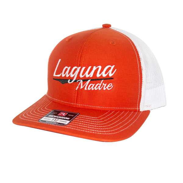 Vintage Logo Snapback - Orange/White