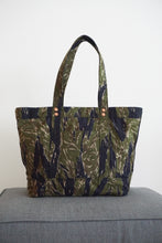Load image into Gallery viewer, Tiger Stripe Camo Tote