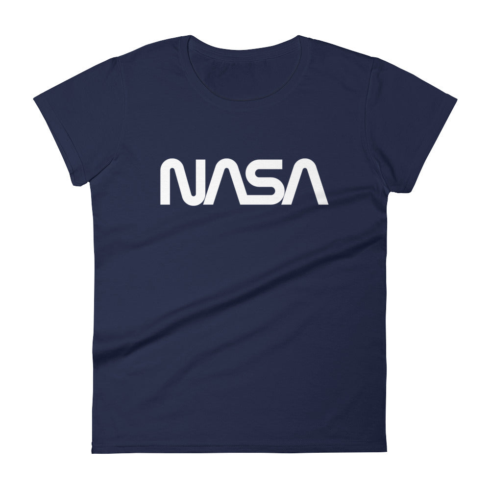 Worm - Navy Fitted Tee