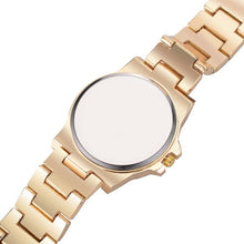 Load image into Gallery viewer, Mens Iced Out Bling Luxury Quartz Hip Hop Watch Silver, Gold & Rose Gold