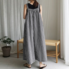 Load image into Gallery viewer, Womens Wide Leg Casual Overalls Style Loose Dungarees Sizes 8 - 24 UK