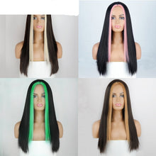 Load image into Gallery viewer, Stunning Two Tone Long Straight Wig in 8 Colours Length 22""
