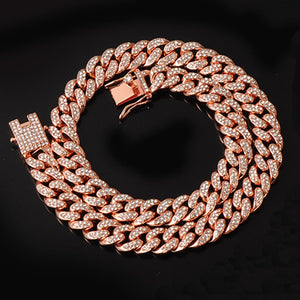 Gold Chain, Watch, Bracelet Collection for Lovers of Hip Hop Rapper Jewellery Iced Out Paved CZ Stones