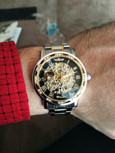 Load image into Gallery viewer, Mens Luxury Skeleton Watch Retro Design with Mechanical Movement in Different Variations