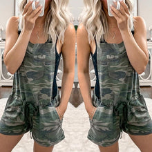 Load image into Gallery viewer, Casual Army Leisure Playsuit Perfect day or Night Wear Camouflage Print Sizes 6-14 Uk