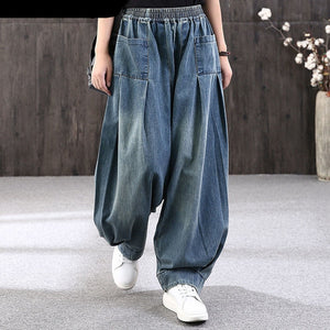 Womens Vintage Style Loose fit Jeans Casual and Comfortable Sizes 10-18 UK