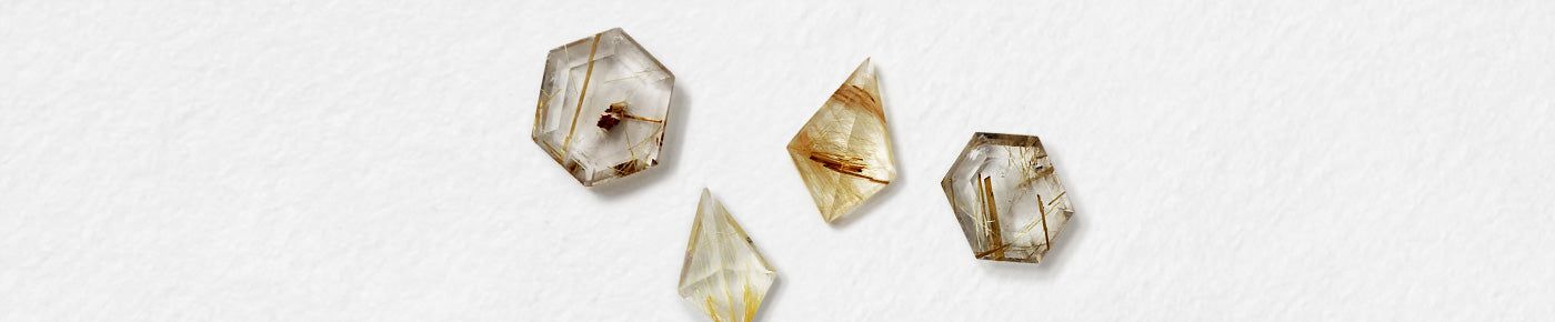 All Shapes (Rutilated Quartz)