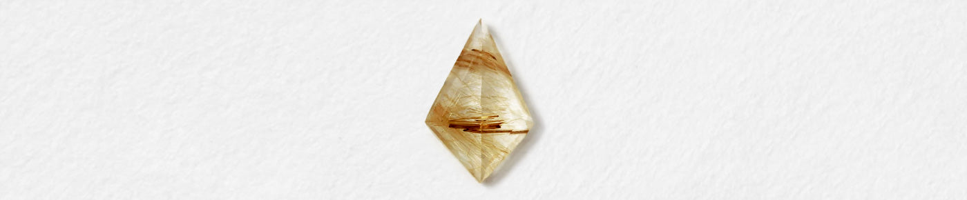 Kite (Rutilated Quartz)