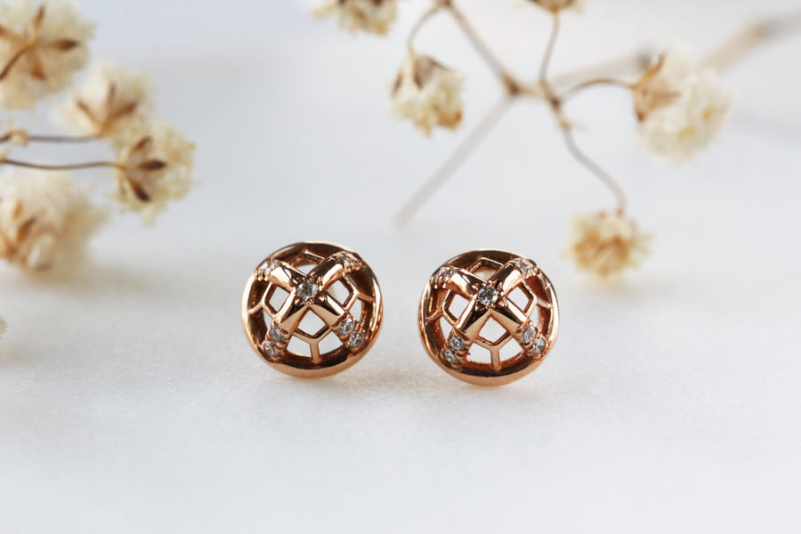 Lux_Circle Small Stud Earring
