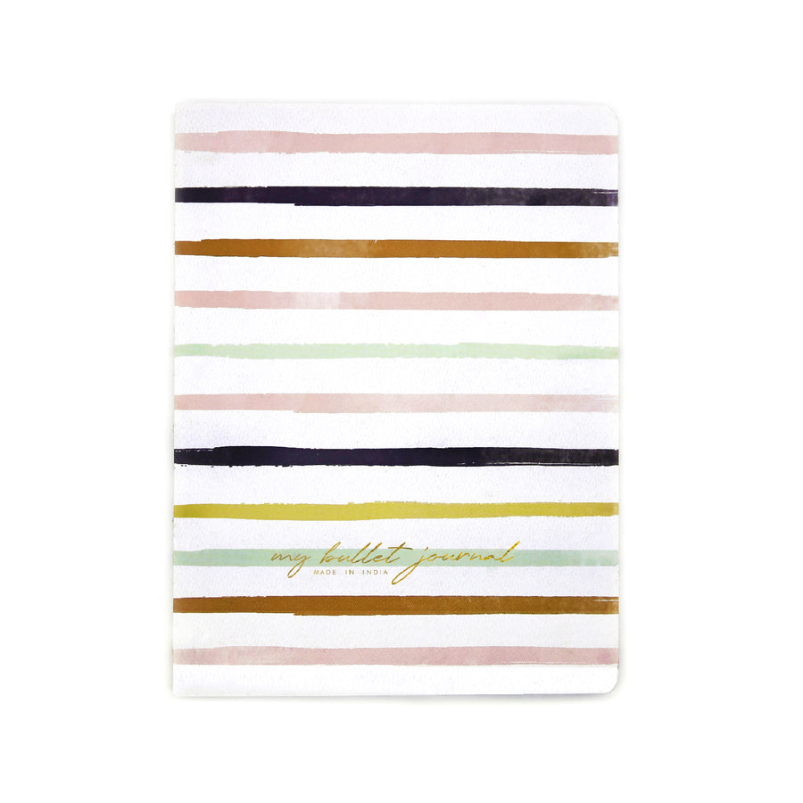 Bullet Journal (Stripes) - 7mm - Fine Paper Stationery