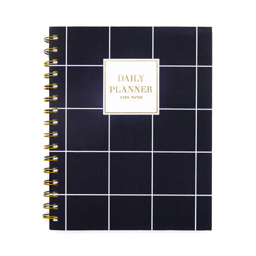 Daily Planner (Square) - 7mm - Fine Paper Stationery