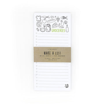 Grocery List - 7mm - Fine Paper Stationery