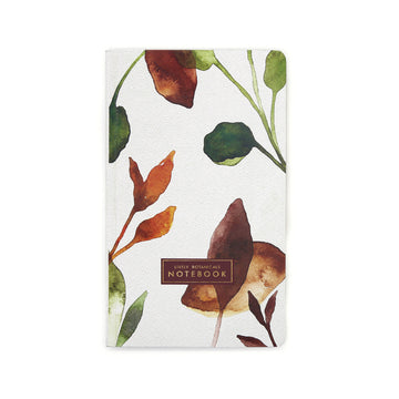 Lively Botanicals Notebook (Fall) - 7mm - Fine Paper Stationery