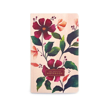 Lively Botanicals Notebook (Spring) - 7mm - Fine Paper Stationery