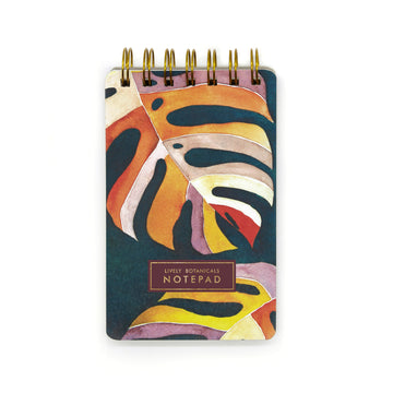 Lively Botanicals Notepad (Monsoon) - 7mm - Fine Paper Stationery