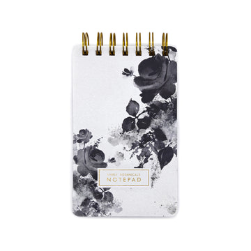 Lively Botanicals Notepad (Winter) - 7mm - Fine Paper Stationery