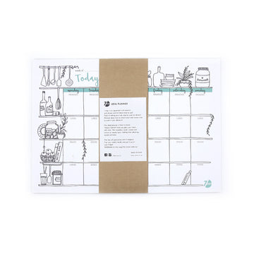 Meal Planner - 7mm - Fine Paper Stationery
