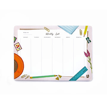 Weekly Deskpad (Desk) - 7mm - Fine Paper Stationery