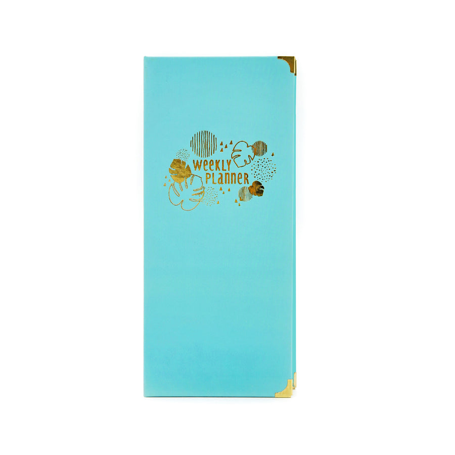 Weekly Planner (Turquoise) - 7mm - Fine Paper Stationery